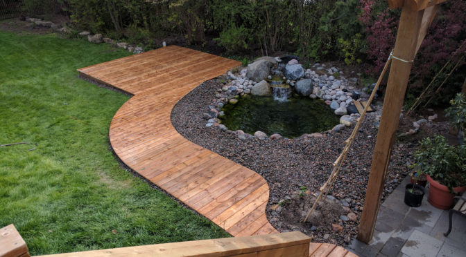 Patio or Deck? Make curve shapes!